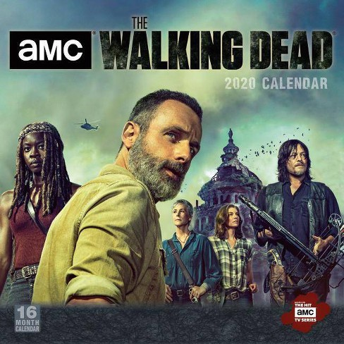 2020 AMC the Walking Dead 16-Month Wall Calendar - image 1 of 1