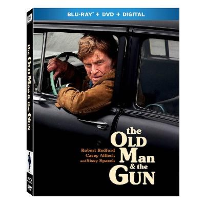 Old Man and The Gun (Blu-ray + DVD + Digital)