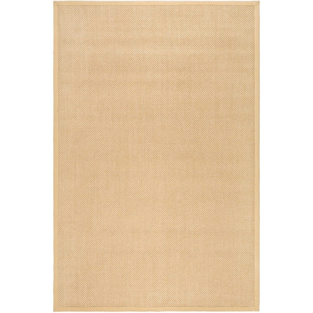 6'X9' Solid Loomed Area Rug Maize (Yellow) - Safavieh