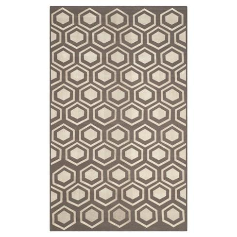 Kilim Rug - Gray - (5'x8') - Safavieh® - image 1 of 2