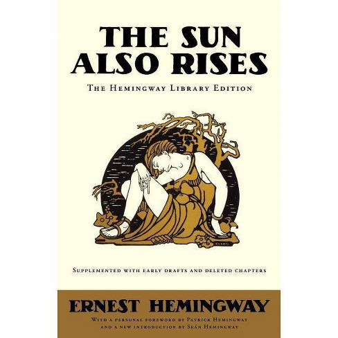 The Sun Also Rises - (Hemingway Library Edition) by  Ernest Hemingway (Hardcover) - image 1 of 1