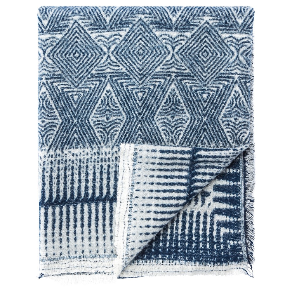 Blue Throw (22