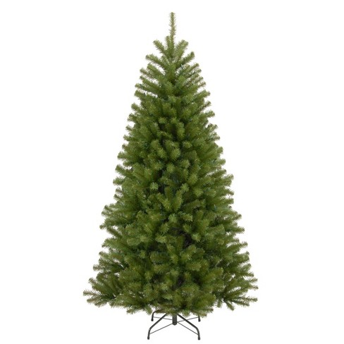 7.5ft National Christmas Tree Company North Valley Spruce Hinged Full Artificial Christmas Tree - image 1 of 4