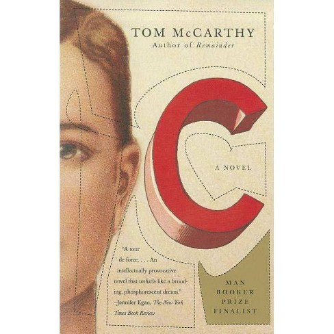 C - by  Tom McCarthy (Paperback) - image 1 of 1