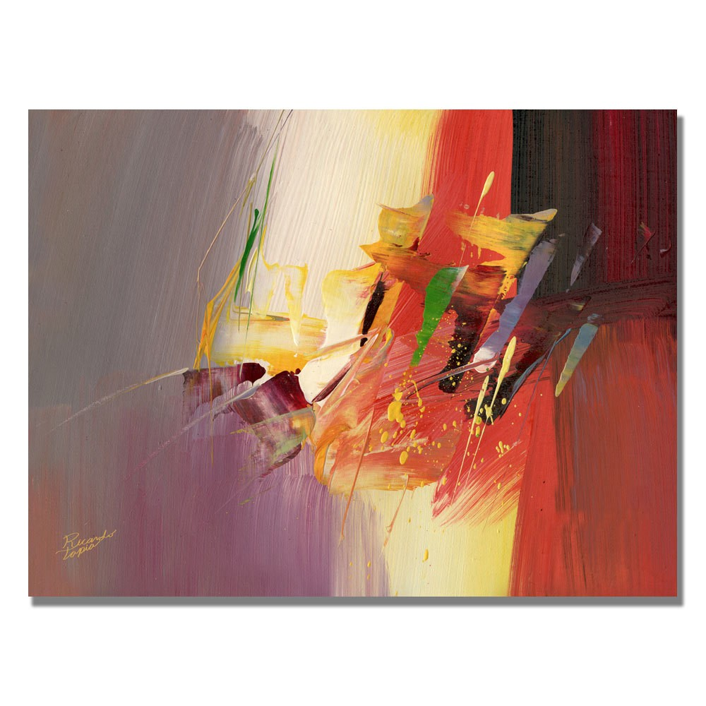 Trademark Fine Art 18 x 24 Tapia 'New World II' Canvas Art was $59.99 now $47.99 (20.0% off)