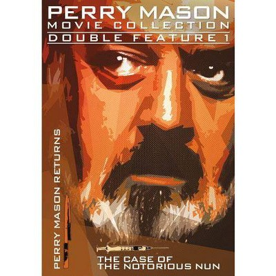Perry Mason Double Feature: Perry Mason Returns / Case of Notorious Nun (DVD)(2014)
