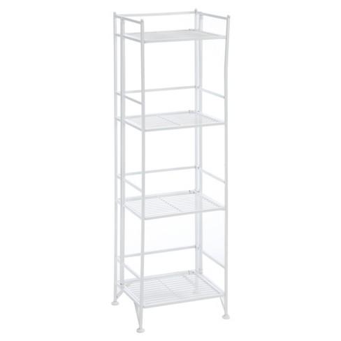 """45"""" Decorative Bookshelf White - Johar Furniture - image 1 of 4"""