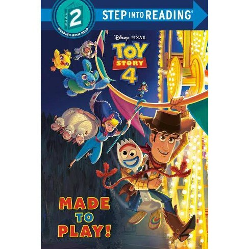 Made to Play! (Disney/Pixar Toy Story 4) - (Step Into Reading) by  Natasha Bouchard (Hardcover) - image 1 of 1