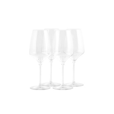 15.8oz 4pk Crystal Experience Red Wine Glasses - Stoelzle