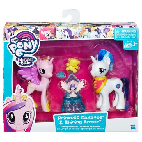 my little pony friendship pack princess cadence and shining armor