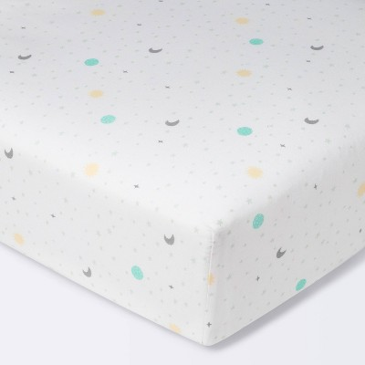 Fitted Crib Sheet Space - Cloud Island™