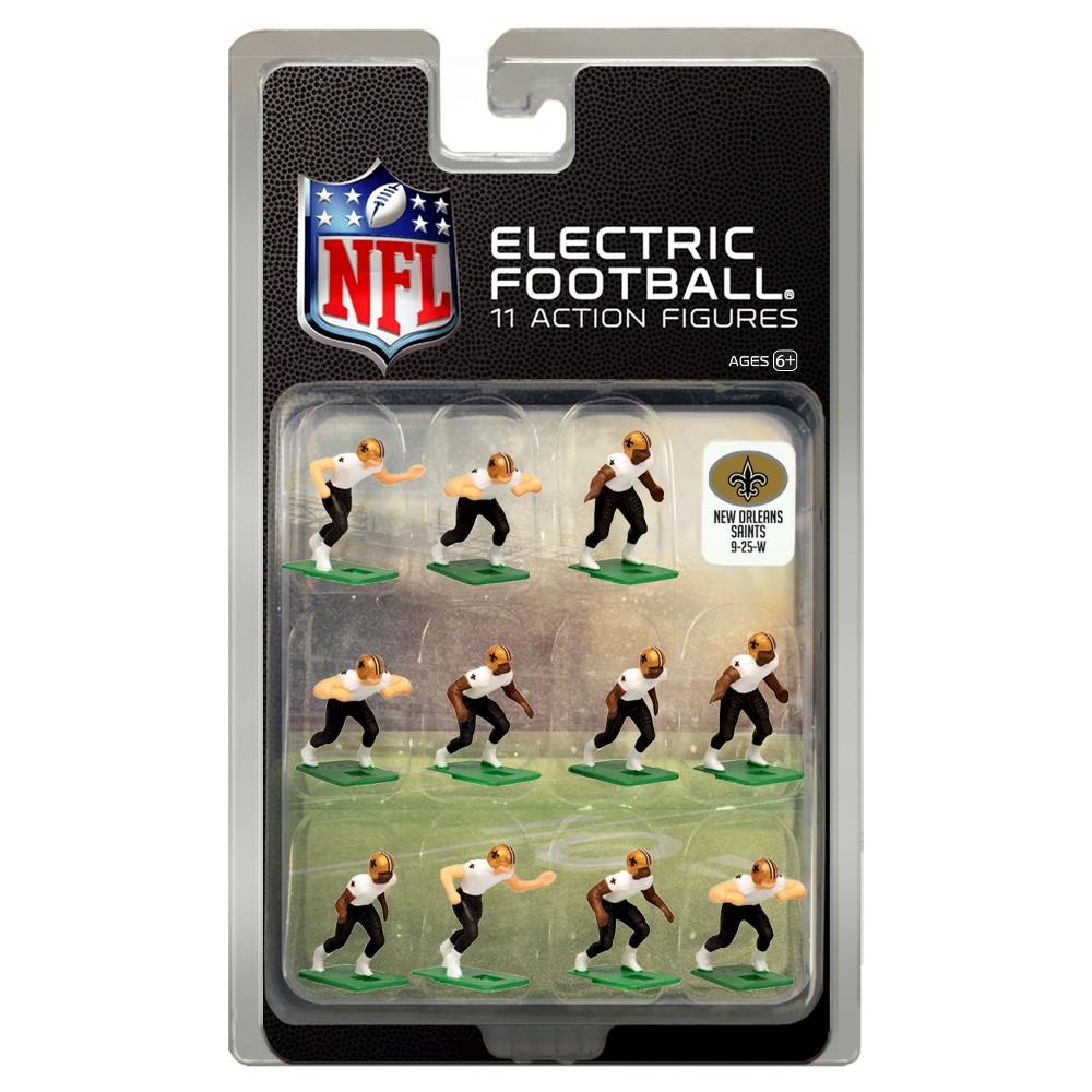 Nfl New Orleans Saints Tudor Games Away Uniform Electric Football Action Figure Set