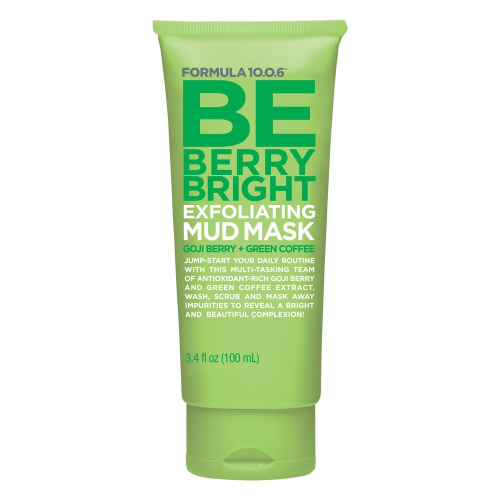 Image of Formula 10.0.6 Be Berry Bright Exfoliating Mud Face Mask - 100ml