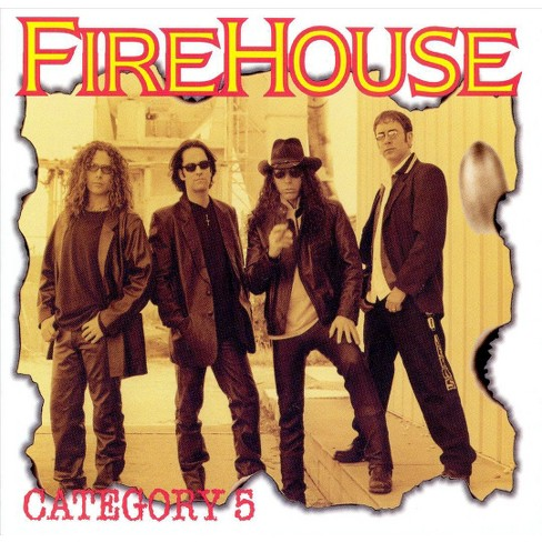 Firehouse - Category 5 (CD) - image 1 of 2