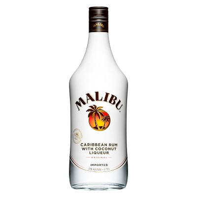 Malibu® Caribbean Coconut Rum Liqueur - 1.75L Bottle