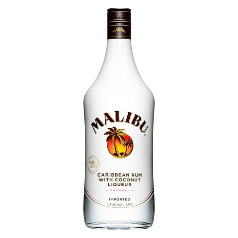 Malibu® Caribbean Coconut Rum Liqueur - 1.75L Bottle - image 1 of 2