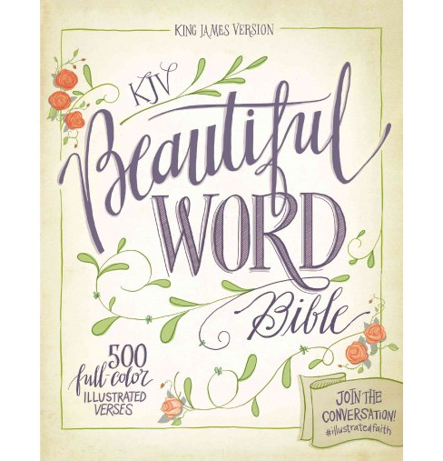 Holy Bible : KJV Beautiful Word Bible (Hardcover) - image 1 of 1