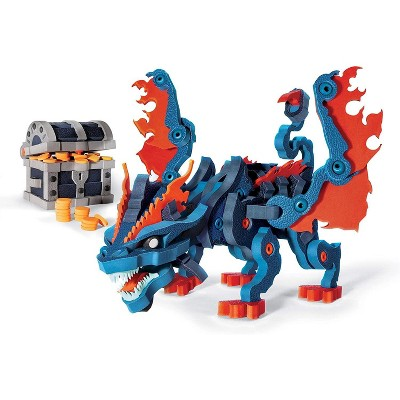 Bloco 240 Piece Construction Set | Treasure Keeper Dragon
