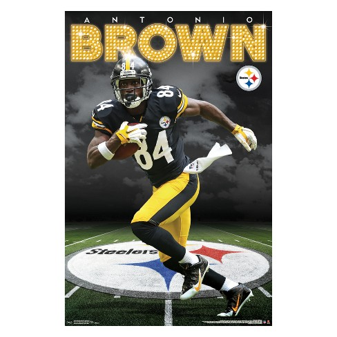 Cheap Pittsburgh Steelers Antonio Brown Unframed Wall Poster : Target  for sale