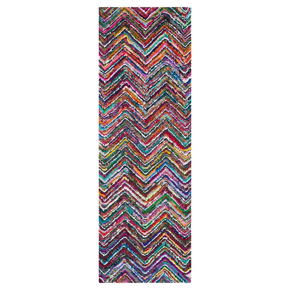 Stripes Tufted Runner - (2'3x8' Runner) - Safavieh, Multicolored