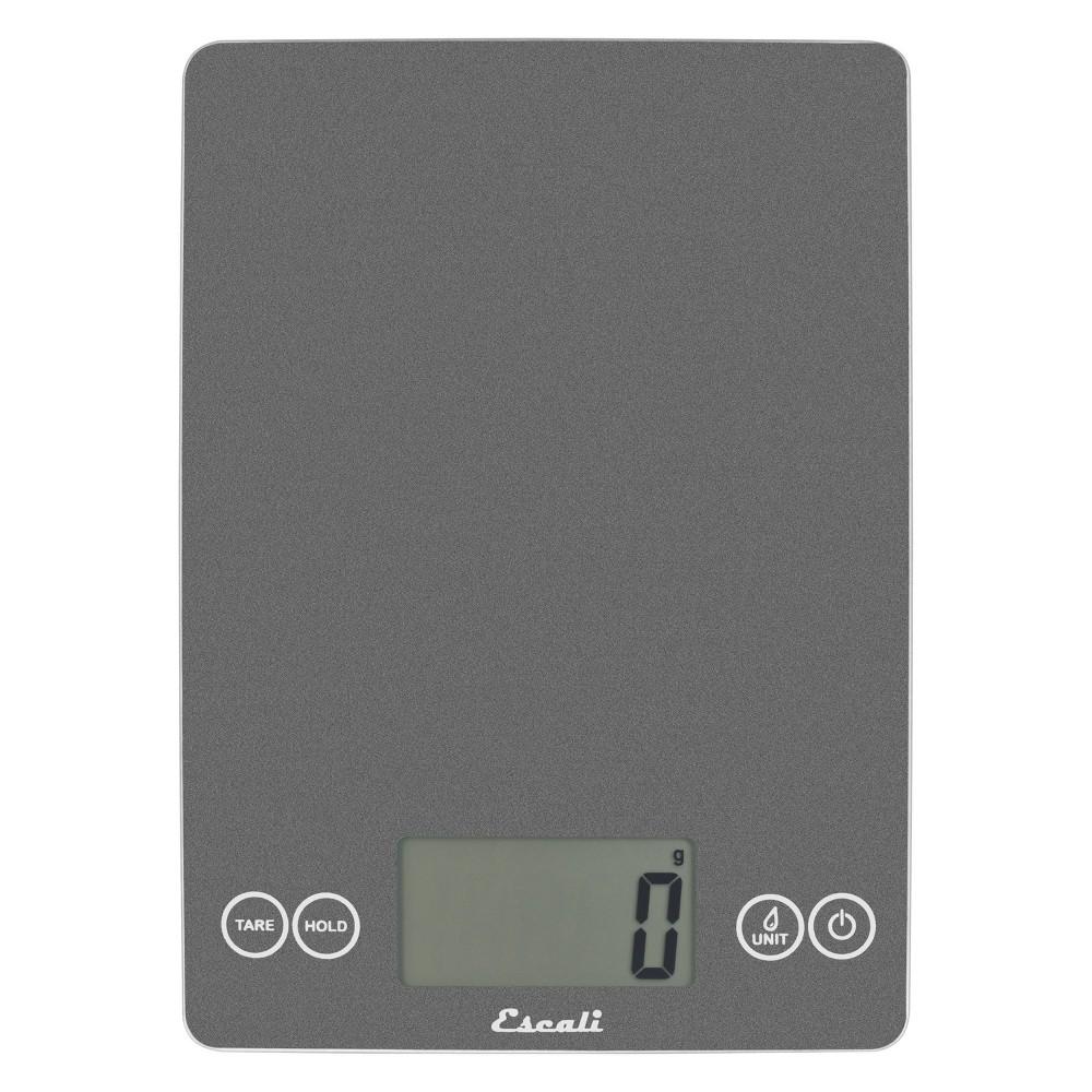 Image of Escali Glass Arti Digital Kitchen Scale Gray