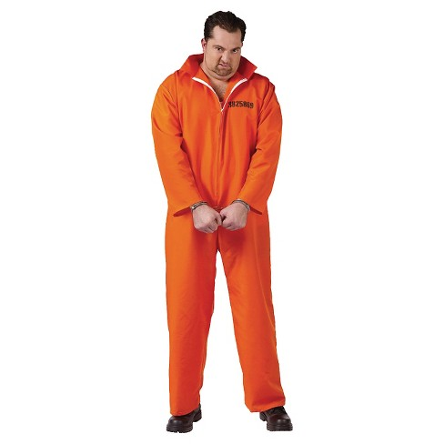 Men's Jail Inmate Costume XX Large - image 1 of 1