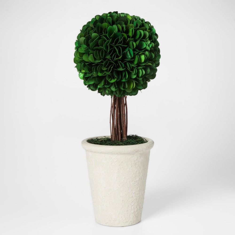 Palm Lily Topiary Large - Smith & Hawken, Green