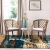 Dining Chair Wood/Light Gray - Safavieh - image 3 of 4