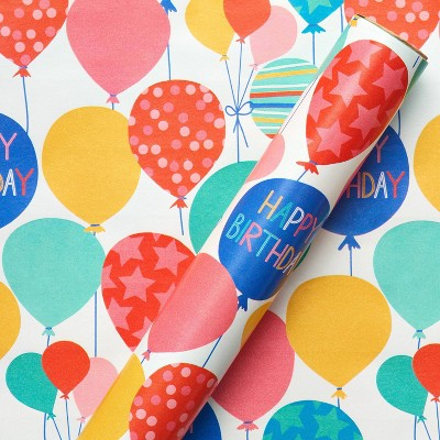 Balloons Kids' Birthday Wrapping Paper - Spritz™