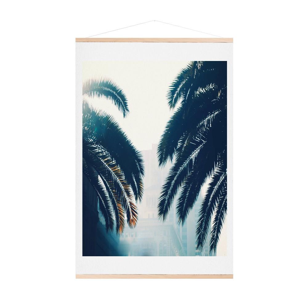 Framed Wall Poster Print Deny Designs 3 X 3 X 30, Blue