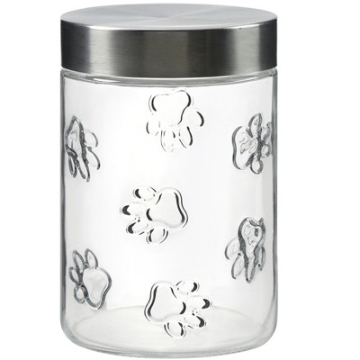 Amici Pet Maxwell Dog Glass Canister, 42oz