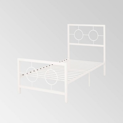Francoise Modern Contemporary Iron Platform Bed - Christopher Knight Home