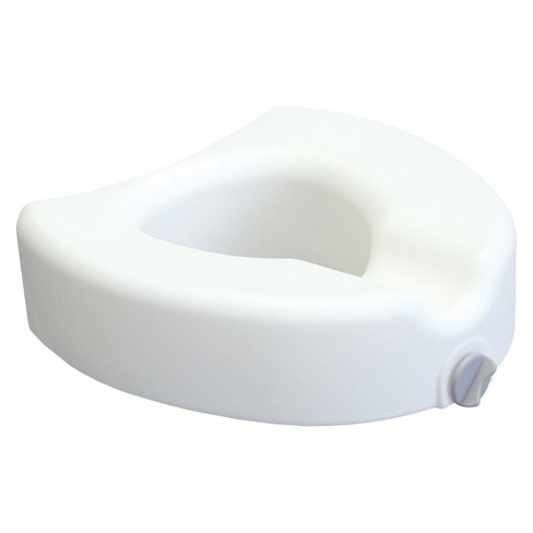 Lumex Locking Raised Toilet Seat - White - image 1 of 1