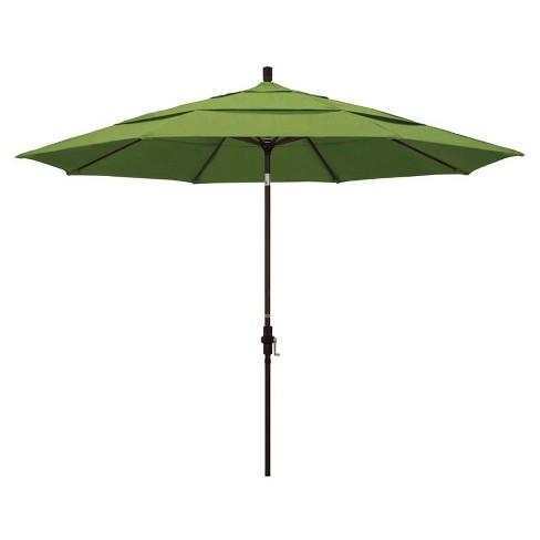 11' Patio Umbrella in Spectrum Cilantro - California Umbrella - image 1 of 2