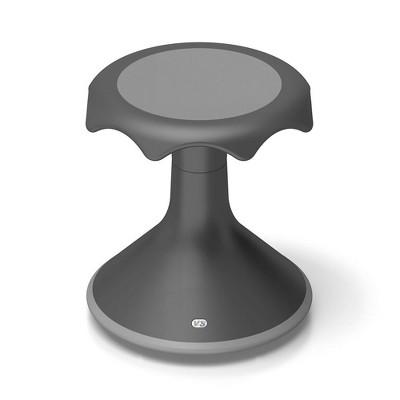 "VS America Hokki Stool Flexible Ergonomic Seating - 15"" Black"