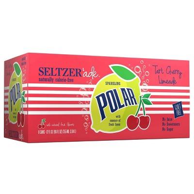 Polar Tart Cherry Lime - 8pk/12 fl oz Cans