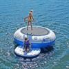 RAVE Sports Kids Inflatable Floating O Zone Lake House Water Jumper Bouncer - image 3 of 4