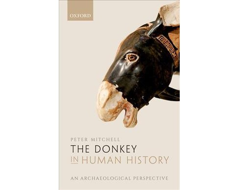 Donkey in Human History : An Archaeological Perspective -  by Peter Mitchell (Hardcover) - image 1 of 1