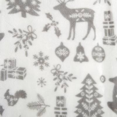 winter animals - grey