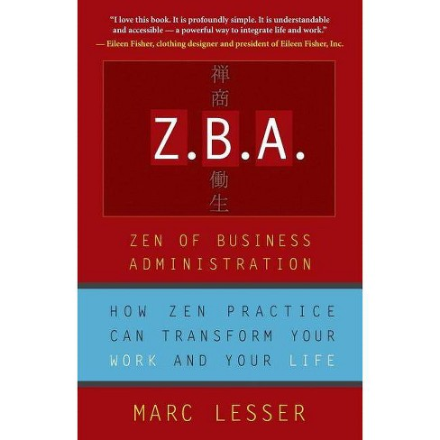 Z.B.A. - by  Marc Lesser (Paperback) - image 1 of 1