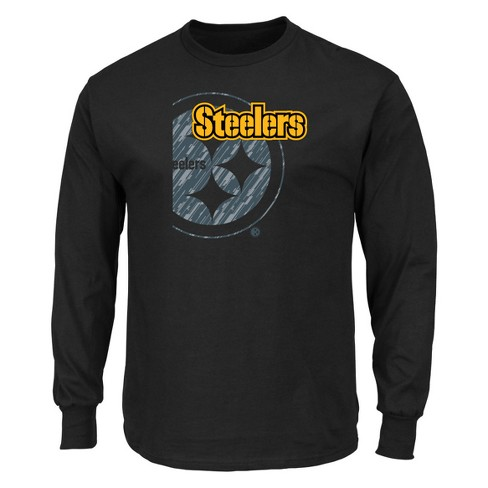NFL Pittsburgh Steelers Men s Point of Attack Black Long Sleeve T-Shirt.  Shop all NFL 0d6498d3d