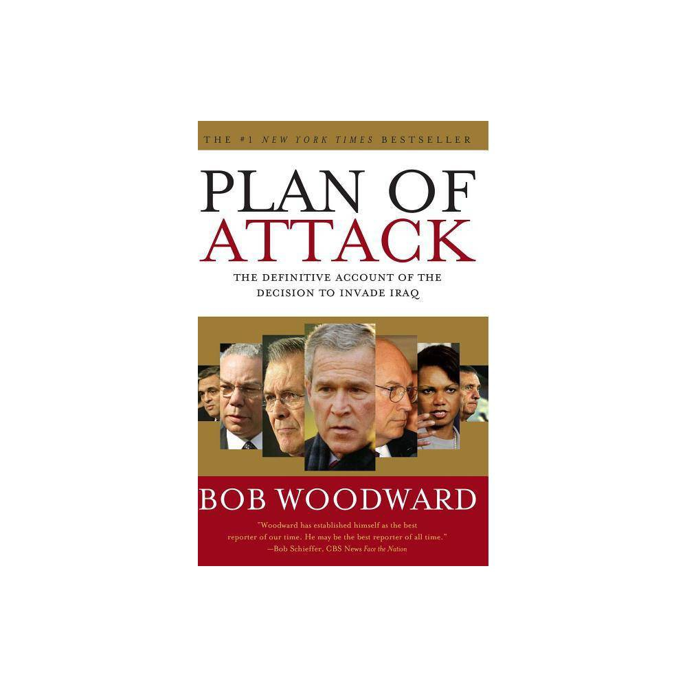 Plan Of Attack By Bob Woodward Paperback