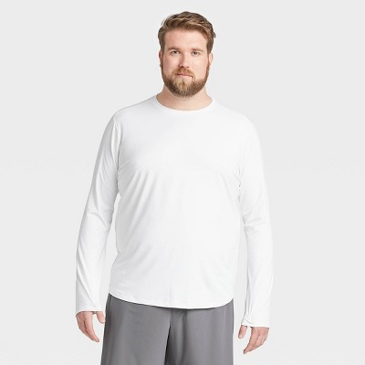 Men's Long Sleeve Soft Gym T-Shirt - All in Motion™