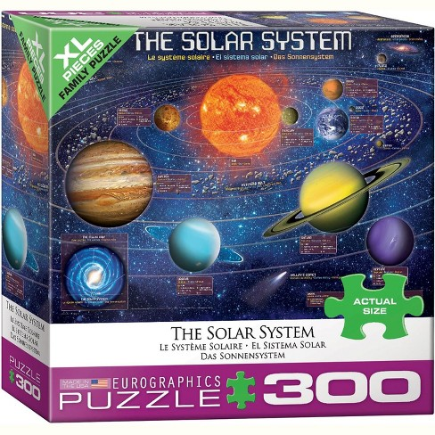 Eurographics Inc. The Solar System 300 Piece XL Jigsaw Puzzle - image 1 of 4