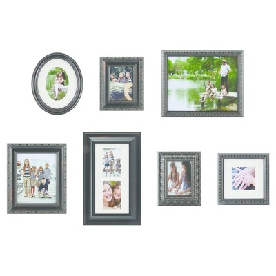Picture Frame Kit Bronze 7pk - Gallery Solutions