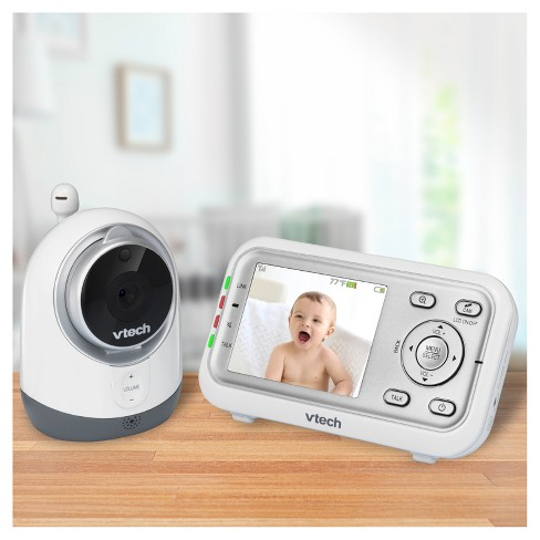 VTech® Expandable Digital Video Baby Monitor with Full-Color and Night Vision - White - VM3251 - image 1 of 9
