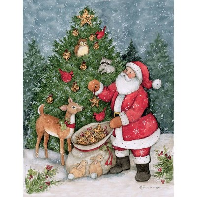 12ct Father Christmas Boxed Cards