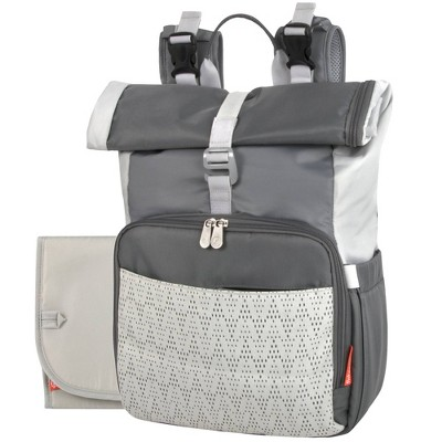 Fisher-Price Rolltop Backpack - Gray Tonal