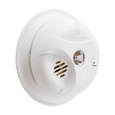 First Alert SA304CN3 Battery Powered Smoke Detector with LED Escape Light