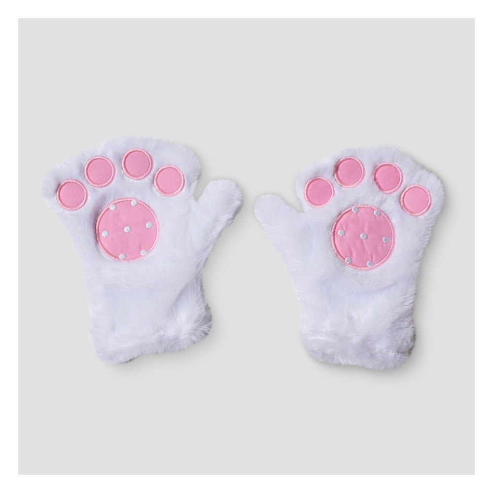 Easter Pink and White Bunny Paws - Spritz, Multi-Colored